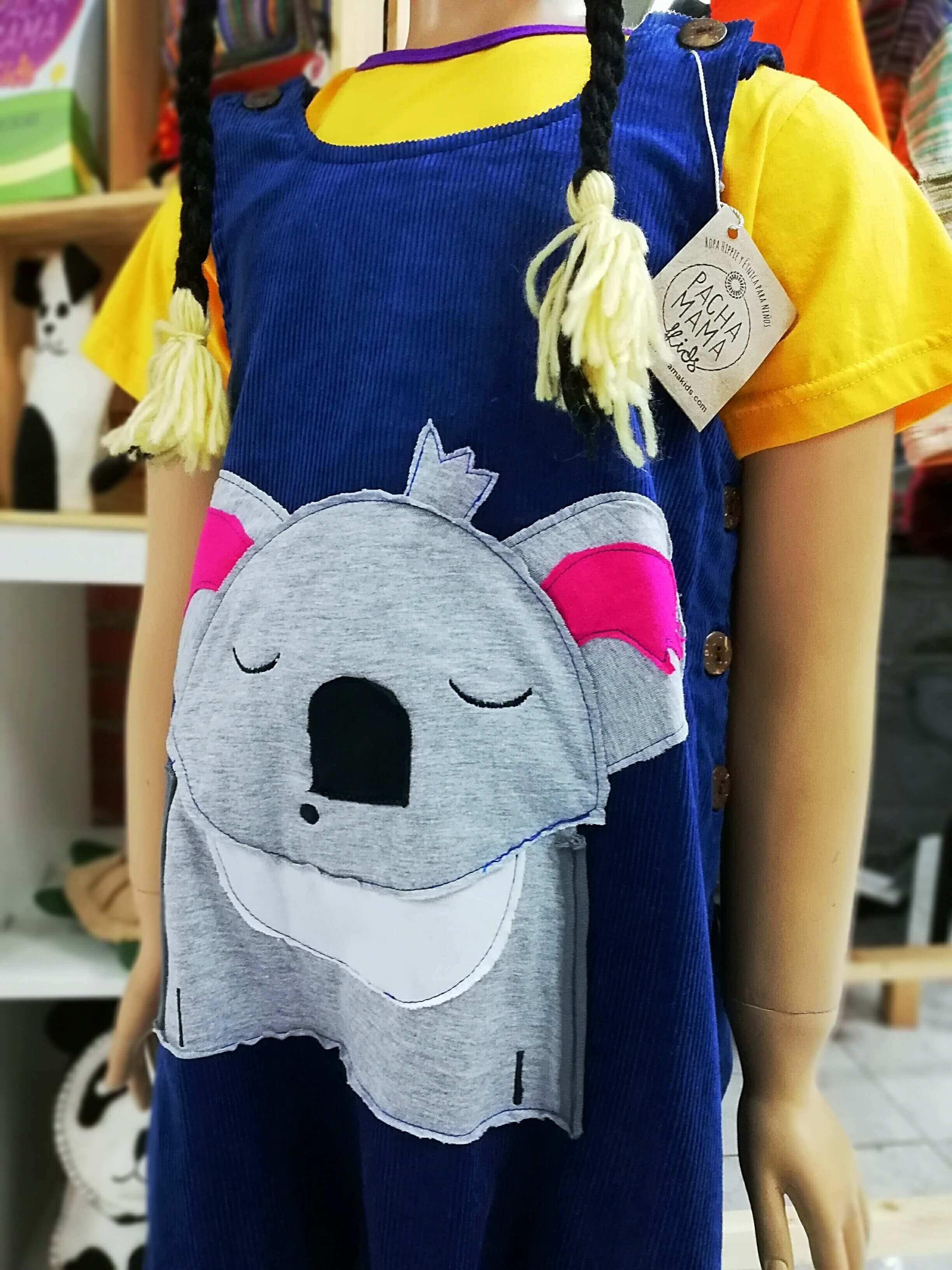 Ropa divertida para niños, peto, pelele para bebés, bebé koala, ropa hippie y étnica para niños